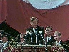 John F. Kennedy: 'Ich bin ein Berliner'
